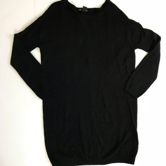 cf0f9878a6be H M Dresses   Skirts - H M Long Sleeve basic black loose fit dress